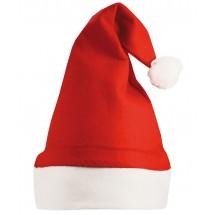 Kerstmuts Rood acc. Wit