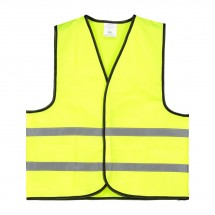 Kinder Veiligheidsvest Polyester Geel Bulk