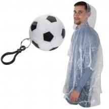 Regenponcho in voetbal -