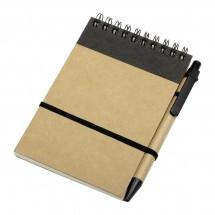 Notitieboekje CLIC CLAC-FOGGIA BLACK