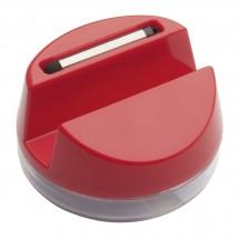 Mobiele telefoonhouder met hoofdtelefoon REFLECTS-AALBORG RED