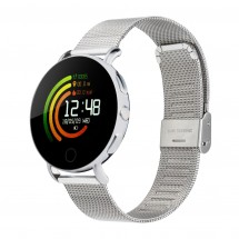 Smartwatch RETIME-OSAKA SILVER - zilver
