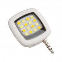 Flitslicht voor smartphones REFLECTS-TOLUCA WHITE