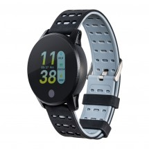 Smartwatch RETIME-LUCCA BLACK - zwart