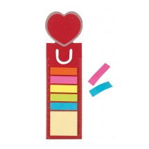 Bookmark  with memoflags Romance