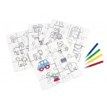 Childrens puzzle Paint your picture