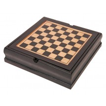 Game set Family-fun in wooden box