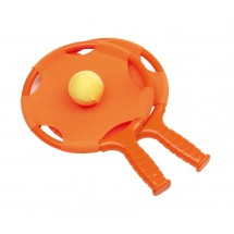 Beachball set  have fun orange