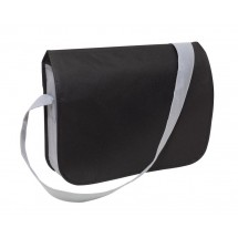 Shoulder bag Smart non-woven, black