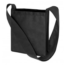 Non-woven shoulder bag Mall, black
