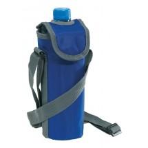 420D cooler bag for 0,5l bottle, blue
