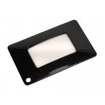 Pocket magnifier Lector, black
