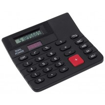 Mini-desk top calculator Corner, black