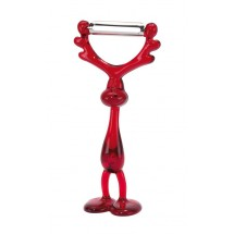 vegetable peeler, Moose Peter red