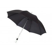 "Alu-golf umbrella ""Satelite, black"