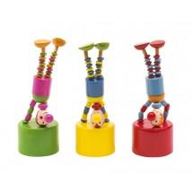 Push puppets Crazy clowns