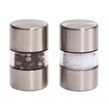 Salt and pepper mill spice flavor