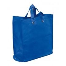 Shopper Palma,non-woven,foldable, blue