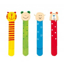Book mark, Funny Animals,4pcs.assorted