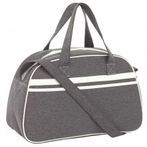 Sports bag Vintage grey/offwhite