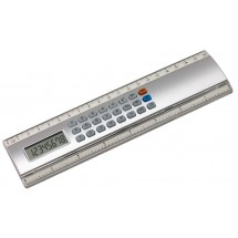 Ruler-calculator Calculine,20cm, silv.