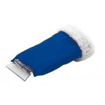 Ice scraper w/ glove Clear sight, blue