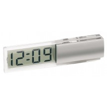 Desk clock w/ transparent LCD Digi