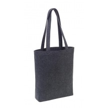 Shopping bagTomsk,felt,dark grey