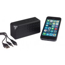 Bluetooth/MP3 loudsp. CUBOID, black