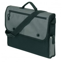 Document bag Relax,600D, black/grey