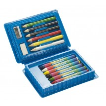 Mini colouring set Art, 14pcs.