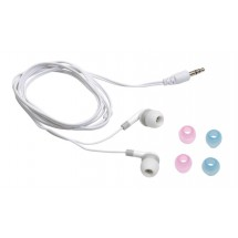 In Ear head phones Listen, white