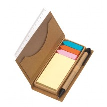 Notebox w/ sticker Stick it, brown