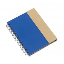 notebook with sticky notes Magny, blue