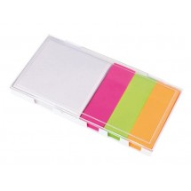 Memobox Note, white / transparent