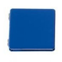 Pocket mirror LOOK AT ME, blue
