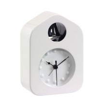 Tablealarm clock Bell, white