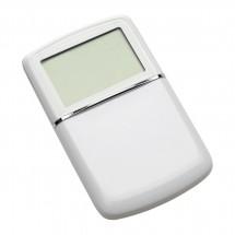 Calculator met wereldtijdenklok REFLECTS-MASSENA WHITE