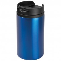 Drinkbeker metaal - blauw
