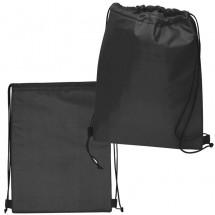 Polyester gymtas - zwart