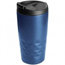 Drinkbeker met motief - blauw
