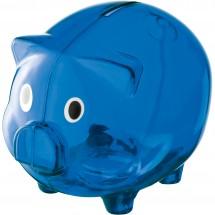 Spaarvarken Leicester - blauw