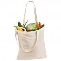 Katoenen tas met lange hengsels - wit