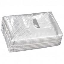 Zakdoekjes, 3 laags kwaliteit - wit