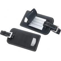 CrisMa kofferlabel - zwart