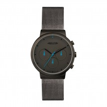 Chronograph REFLECTS-DESIGN zilver/zwart