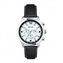 Chronograph REFLECTS-PILOT zwart/wit