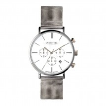 Chronograph REFLECTS-BUDGET zilver/wit