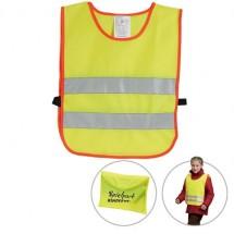 Kinder veiligheidsovergooier - neon geel