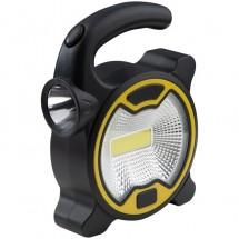 COB hobby-/bouwlamp met zijlicht - zwart